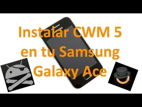 Instala ClockWorkMod 5.0.2.6 en tu Samsung Galaxy Ace - TheVigoFlax