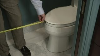 (1.92 MB) How Much Space Should Be in Front of a Toilet? : Bathroom Remodeling Mp3