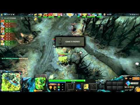 Na`Vi vs iCCup, The Defense 4 Playoff, game 1