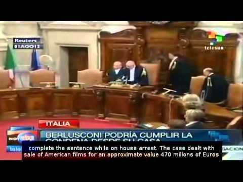 Berlusconi defense will appeal tax fraud sentence