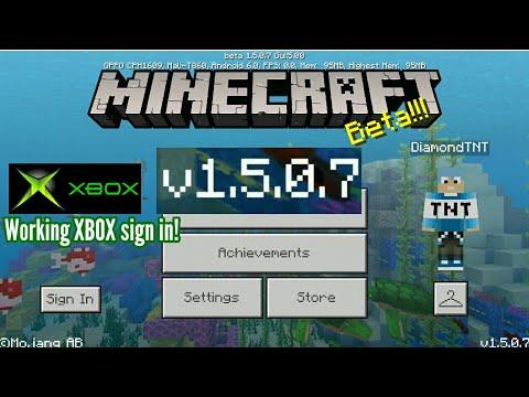 New Minecraft Bedrock Edition Update *BETA* Version 1.5.0.7 + Apk Download Link