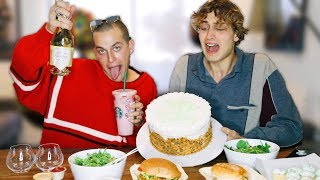 My 10,000 Calorie Birthday Mukbang