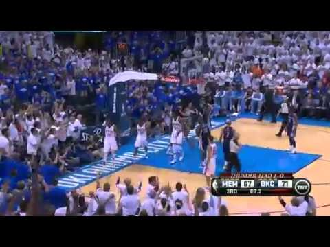 Memphis Grizzlies Vs Oklahoma City Thunder - NBA Playoffs 2013 Game 2 - Full Highlights 5/7/13