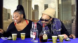 """Pick Your Poison""  Drinking game show.  EP 3  Jasmine Marks vs Ghetto Prophetsy #PICKYOURPOISON"