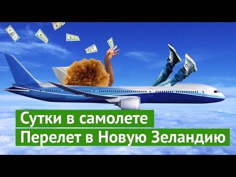 Сутки в самолёте: долететь до Новой Зеландии за кучу денег и не сойти с ума