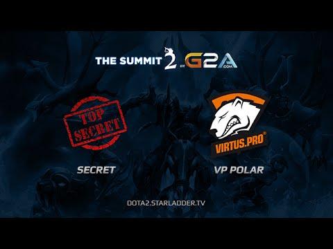 Team Secret vs VPPolar The Summit Europe Day Last game 2