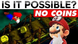 Can You Beat Super Mario 64 Without Collecting ANY Coins | Is It Possible?