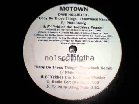 "Dave Hollister ""Baby Do Those Things"" (Throwback Remix w/o Rap)"