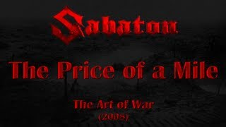 Watch Sabaton The Price Of A Mile video