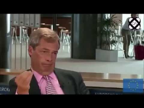 Nigel Farage schools a really clueless reporter