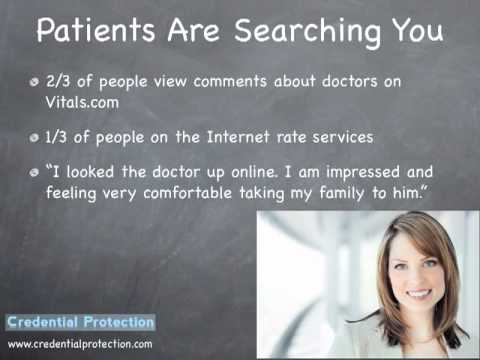 Don't Be A Victim Of Bad Reviews. Manage Your Doctor-patient Relationships In The Clinic And Online. video