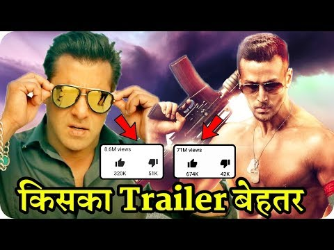 Race 3 Trailer VS Baaghi 2 Trailer || Salman Khan Action VS Tiger Shroff Action || 2018 Action Movie thumbnail
