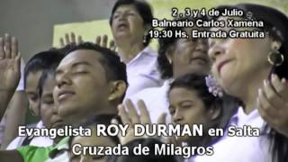 Roy Durman en Salta!