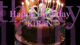 HAPPY BIRTHDAY Kiran - YouTube.flv