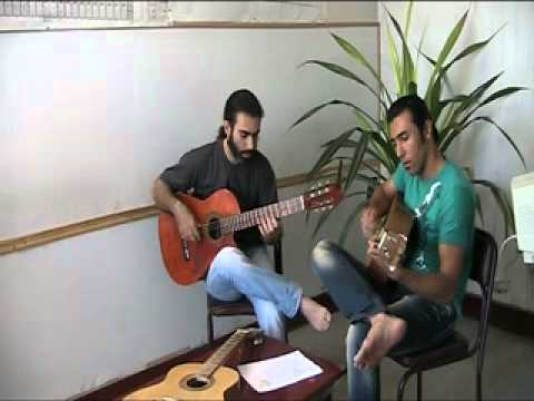 Ottmar liebert Starry Night Guitar Festival Payam Khalajjj&Sadegh TabAtabAie KhordAd 1390