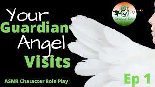 ASMR Character Roleplay: Yes, I'm an Angel...but not just any Angel [Guardian Angel] [Comfort]