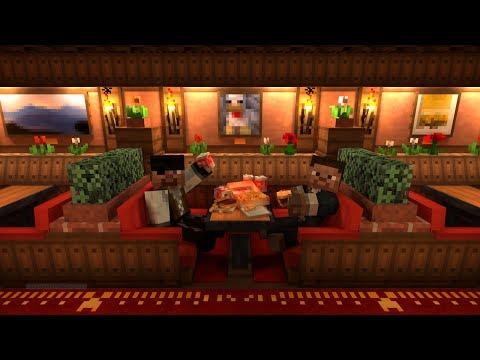 Minecraft:Прохождение карты Взрыв крипера