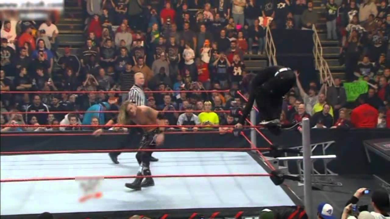 Jeff Hardy Vs Edge For The WWE Championship (Highlights ...