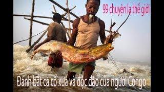 Đánh bắt cá cổ xưa và độc đáo của người Congo trên thác nước