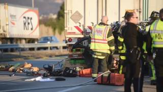Fatal crash on Route 222