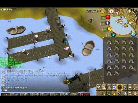osrs how to fish rocktails