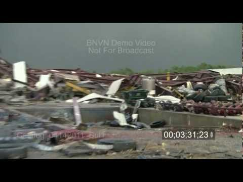 4/14/2011 Tushka, OK tornado and damage video