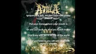 Attila- MIDDLE FINGERS UP Lyrics