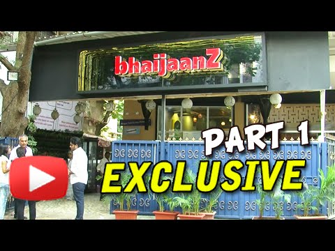 Bhaijaanz - A Full Tour Of Salman Khan Inspired Restaurant In Mumbai | Part 1 - Exclusive
