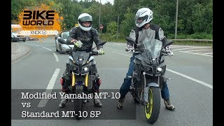 Modified Yamaha MT-10 VS MT-10 SP