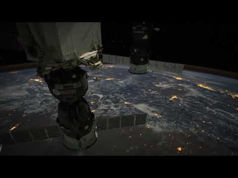 Seeing Earth IN Space [new ISS timelapse footage]