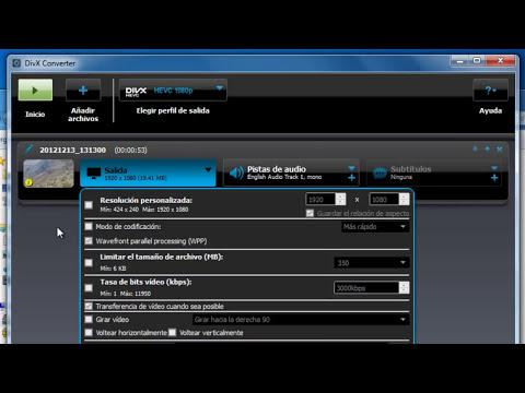 Cómo comprimir vídeos FullHD (720p/1080p) sin perder calidad