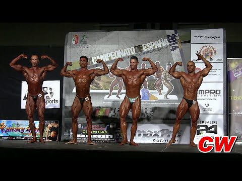 Campeonato de España de Fisicoculturismo y Fitness FEFF 2014 (Parte I)