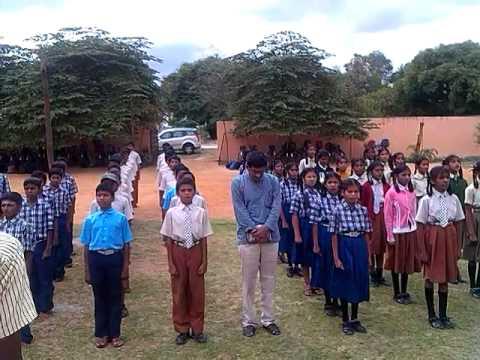 Jai bharatha Jananiya tanujathe Karnataka Anthem