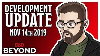 D&D Beyond Dev Update - Unearthed Arcana, Encounter Builder & More