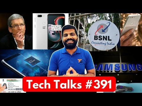 Tech Talks #391 - Aadhaar Hack, Samsung 9810, Apple Loss, Nokia 6, Xbox One X
