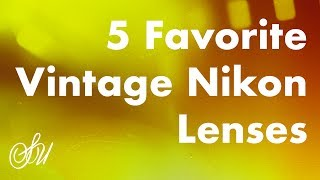 5 Favorite Vintage Nikon Lenses