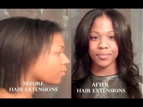 Protective Style: Sewn In Hair Extensions