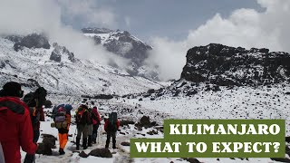 Climbing Kilimanjaro - What to expect - Machame route