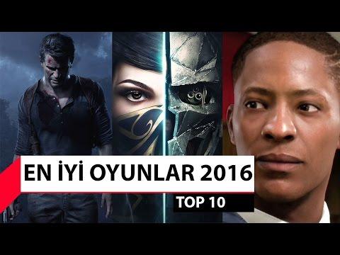 2016 yılının en iyi oyunları!
