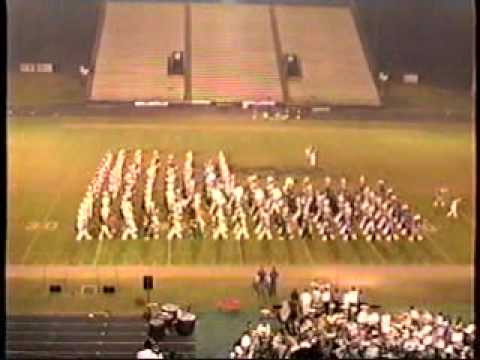 Lufkin High School marching band - Honor America Night 2001