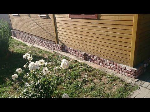 Облицовка фундамента, цоколя камнем. О том как красиво, быстро и качественно отделать фундамент дома