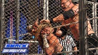 Dolph Ziggler vs. Kane - Steel Cage Match: SmackDown, Nov. 7, 2014
