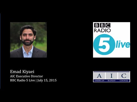 Kiyaei talks with BBC radio about Iran deal