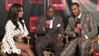 Jadakiss, Carmelo Anthony - VEVO News: Music Meets...