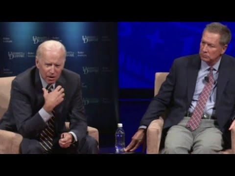 Biden, McCain take on Trump
