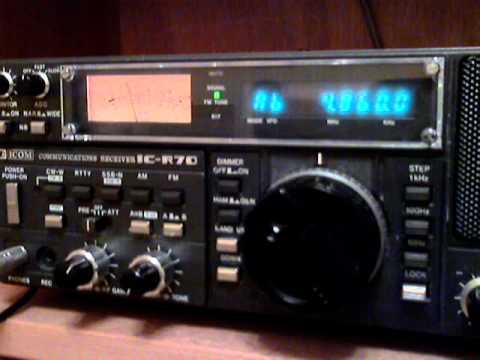 Voice of Iranian Kurdistan opening + jamming on 4860 KHz