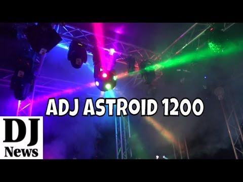 Astroid 1200 Centerpiece Effect Light RGBW LED | Disc Jockey News | #AmericanDJ