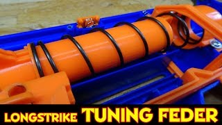 NERF LONGSTRIKE CS-6 TUNING FEDER EINBAU [deutsch/german]