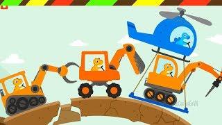 Dinosaur Digger 3: Khủng Long Lái Xe Ủi Đất, Cần Cẩu & Xe Tải | DCTE VN