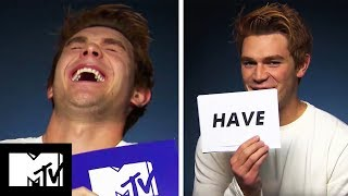 KJ Apa Plays Never Have I Ever! | Riverdale | MTV Movies
